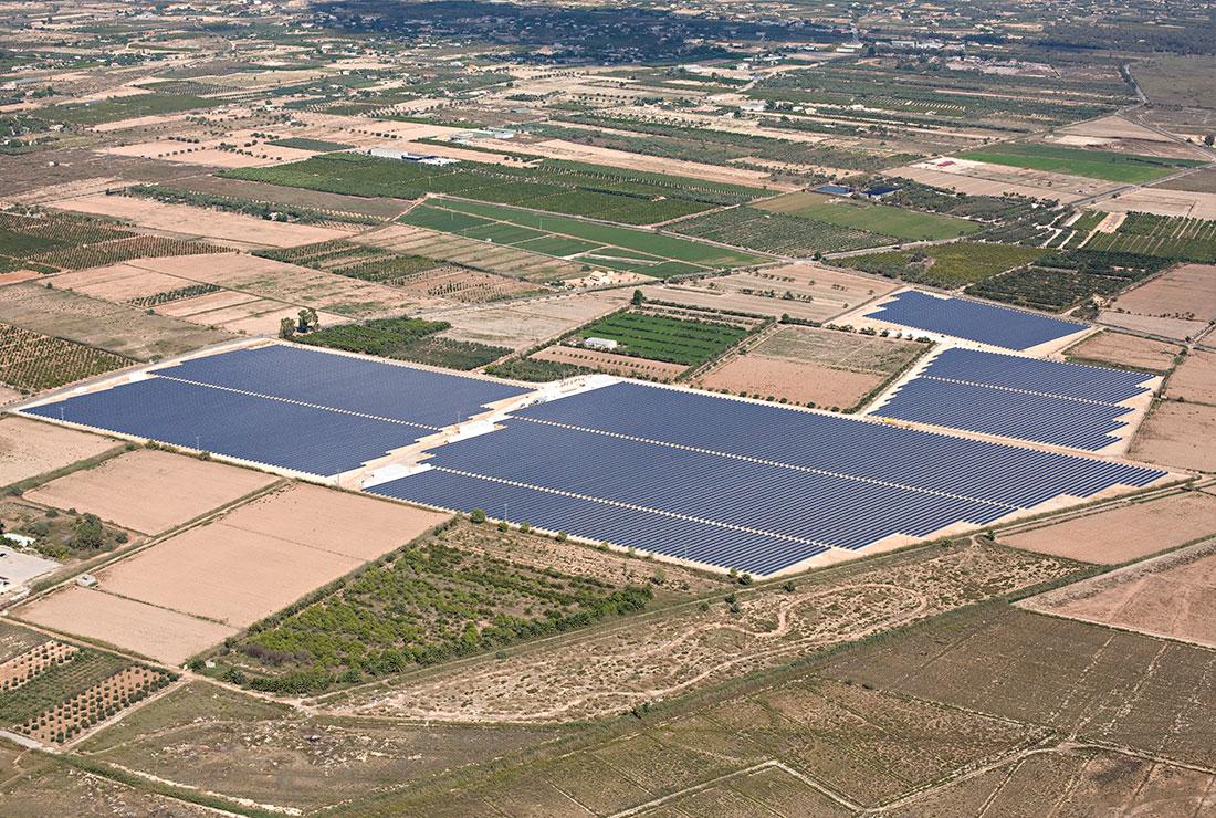 Huerto solar Enercoop