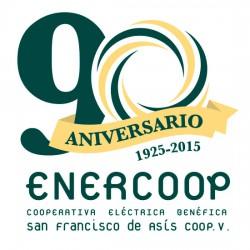 Logo 90 aniversario Enercoop