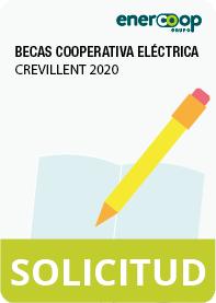 Acceso al formulario de solicitud de las becas de estudio 2020-2021 de la Cooperativa Eléctrica de Crevillent